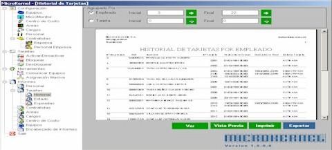MicroKernel Programa núcleo unificador de todos los sistemas MicroControl.